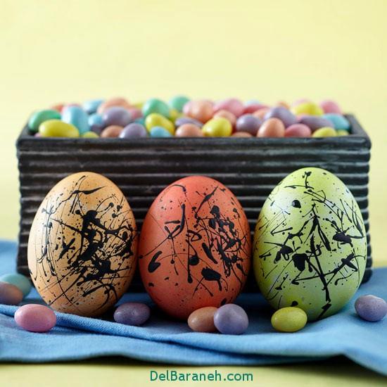 تزیین تخم مرغ های عید نوروز,عید نوروز,
