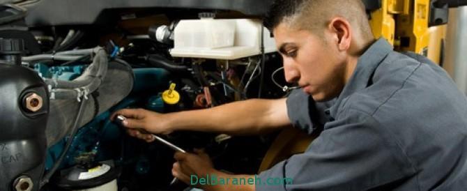 تعمیرات ماشین,