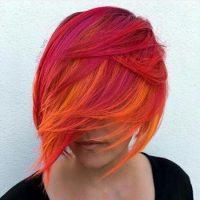 مدل مو و رنگ موهای فانتزی سال ۲۰۱۷