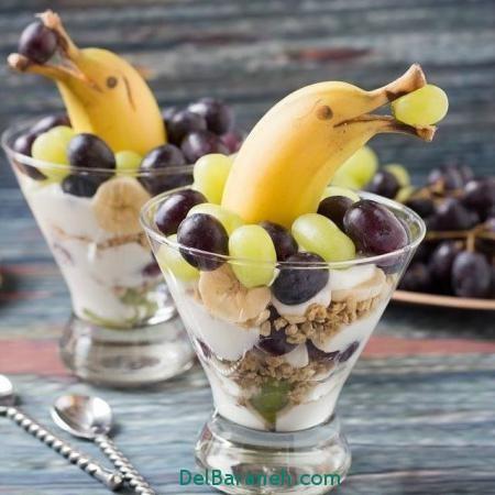 میوه ارایی,میوه آرایی ساده,اموزش میوه ارایی