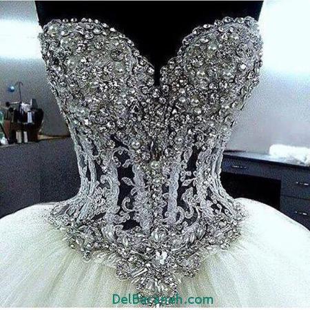 لباس عروس اروپایی شیک 2017 (7)