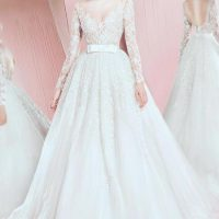مدل لباس عروس جدید ۹۶ لباس عروس و نامزدی ۲۰۱۷