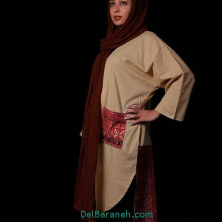مانتو سنتی دخترانه
