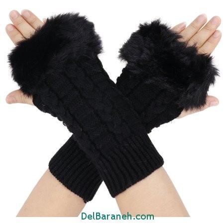 مدل دستکش بدون انگشت دخترانه (2)