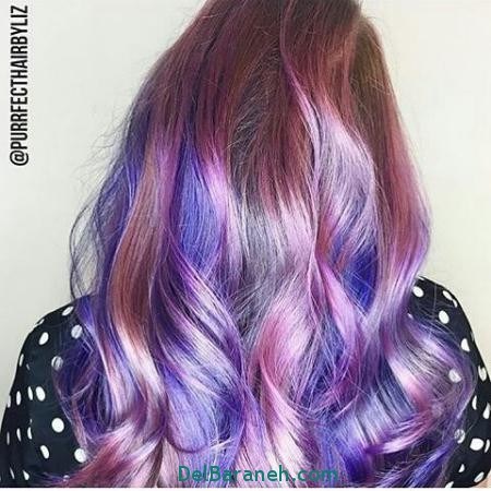 مدل رنگ مو 2017