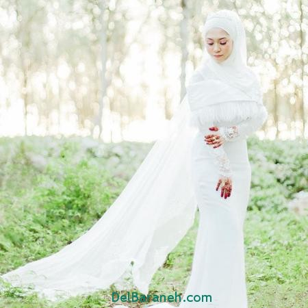 مدل لباس عروس پرنسسی (13)