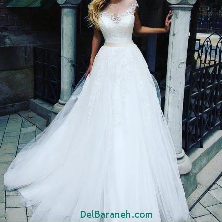 مدل لباس عروس پرنسسی (17)