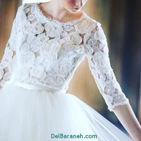 مدل لباس عروس پرنسسی (9)