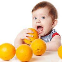 آیا دادن پرتقال به کودک بی خطر است؟