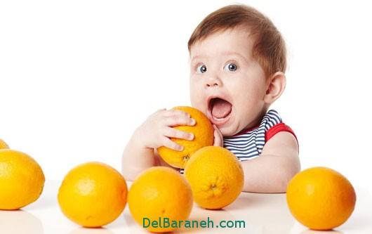 دانستنیهای کودکان, پرتقال ,تغذیه سالم