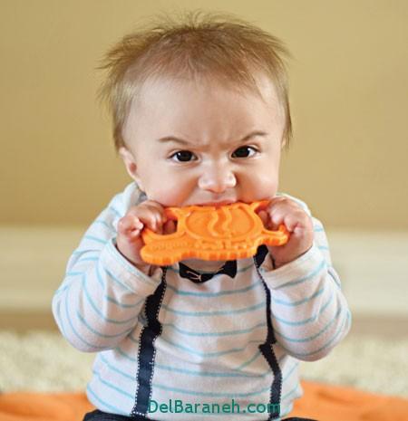 کودک نوپا , قورت دادن,زمانی که کودک چیزی را قورت میدهد,