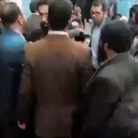 فیلم توهین به امیری معاون رئیس جمهور روحانی در نماز جمعه یزد+علت