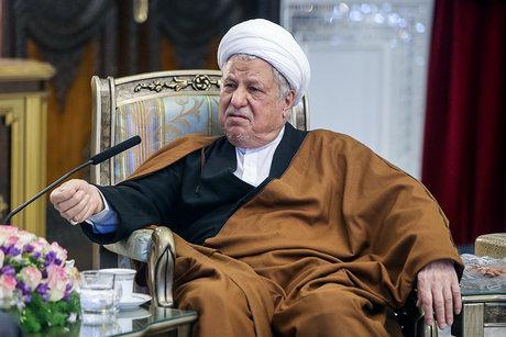 دیدار نخست وزیر سابق فرانسه با هاشمی رفسنجانی