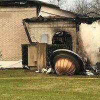 آتش زدن یک مسجد در تگزاس آمریکا در دولت ترامپ+ تصاویر