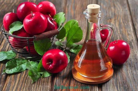طرز تهیه سرکه سیب (1)