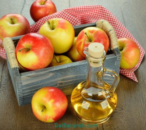 طرز تهیه سرکه سیب (7)