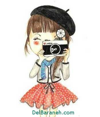عکس دخترونه عروسکی برای پروفایل تلگرام