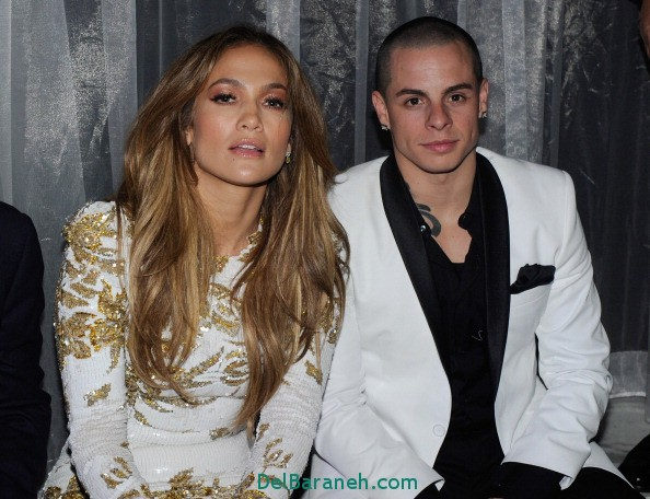 "LAS VEGAS, NV - MAY 27: Singer/actress Jennifer Lopez (L) celebrates the launch of her new single, ""Goin' In"" with her boyfriend Casper Smart at Hyde Bellagio at the Bellagio May 27, 2012 in Las Vegas, Nevada. (Photo by Ethan Miller/Getty Images for Hyde Bellagio)"