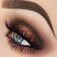 آرایش چشم عروس + مدل ارایش چشم ملایم
