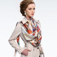 شگفت انگیزترین مدل روسری در طرح های مختلف برای خانمها ۹۶