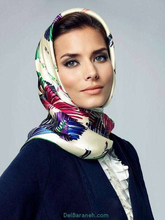 مدل روسری (2)