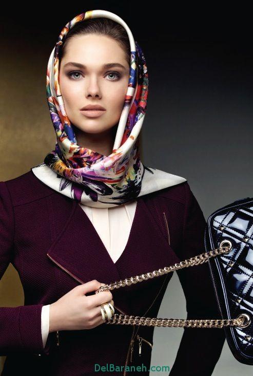 مدل روسری (7)