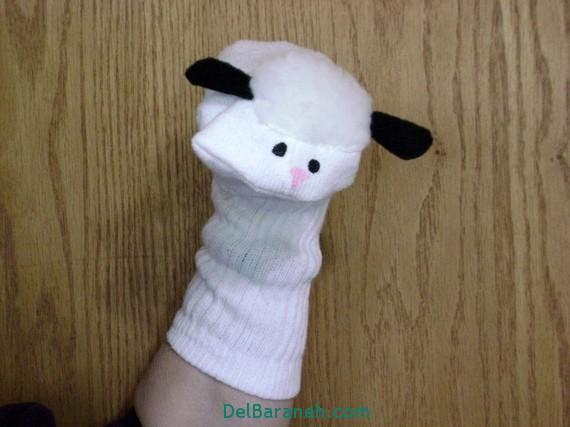 مدل عروسک جورابی (3)