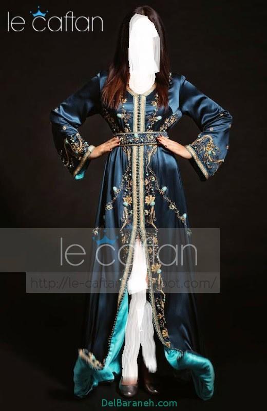 مدل لباس مجلسی زنانه مغربی (13)
