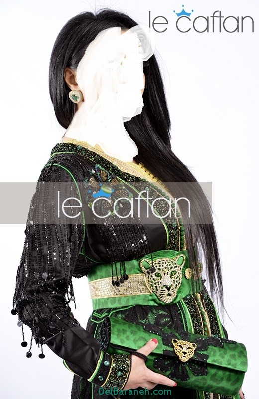 مدل لباس مجلسی زنانه مغربی (14)