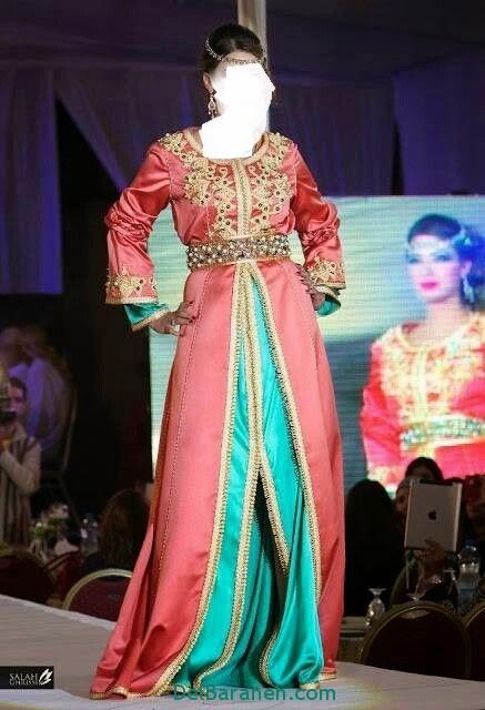 مدل لباس مجلسی زنانه مغربی (16)