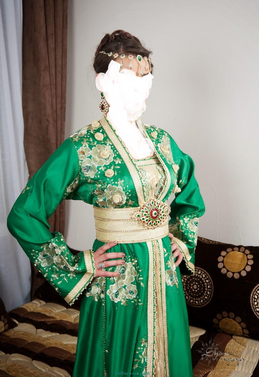 مدل لباس مجلسی زنانه مغربی (18)