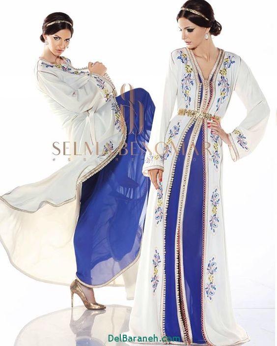مدل لباس مجلسی زنانه مغربی (19)
