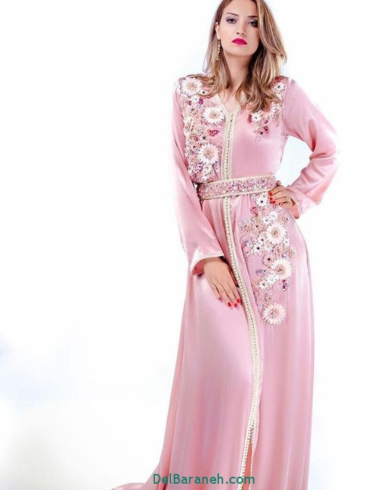 مدل لباس مجلسی زنانه مغربی (2)