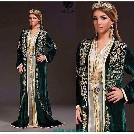 مدل لباس مجلسی زنانه مغربی (20)