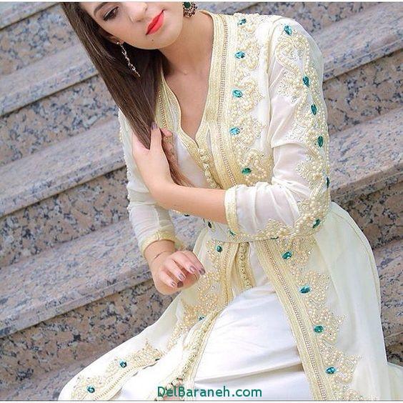 مدل لباس مجلسی زنانه مغربی (3)