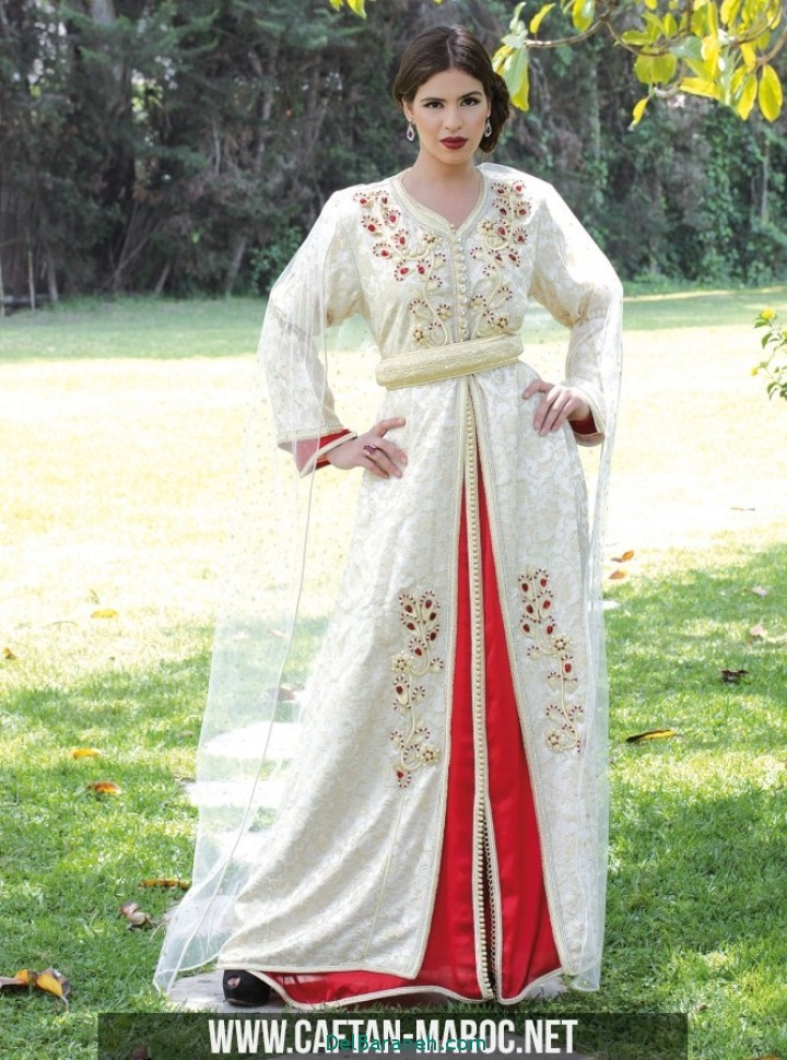 مدل لباس مجلسی زنانه مغربی (4)