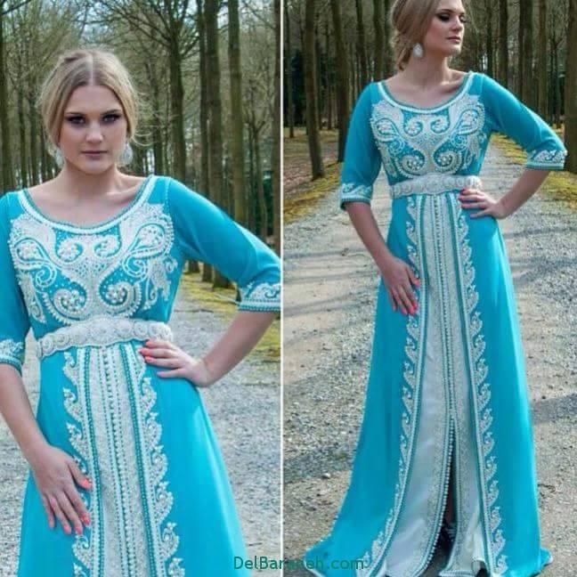 مدل لباس مجلسی زنانه مغربی (5)