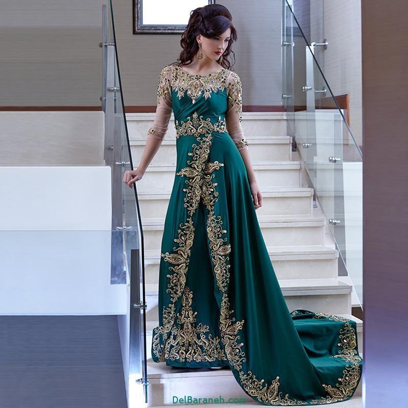 مدل لباس مجلسی زنانه مغربی (6)