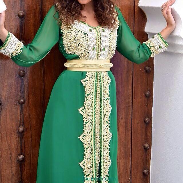 مدل لباس مجلسی زنانه مغربی (8)