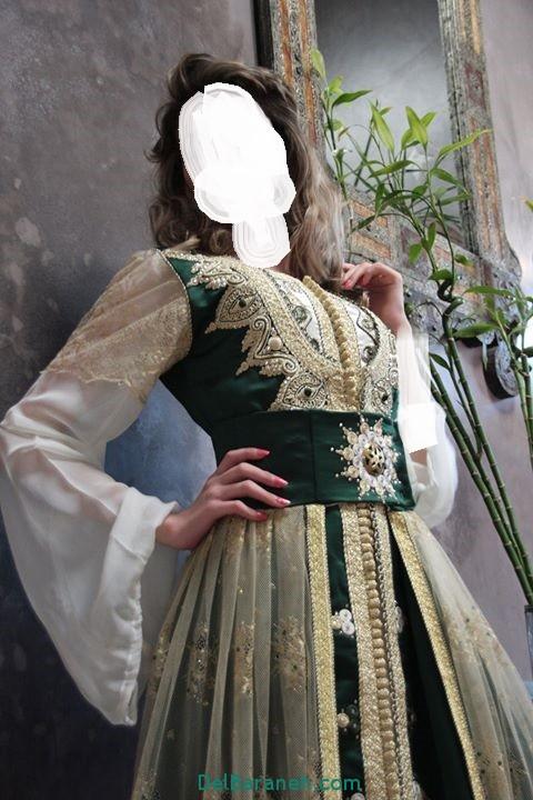 مدل لباس مجلسی زنانه مغربی (9)