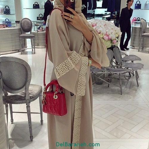 مدل مانتو بلند عربی (1)