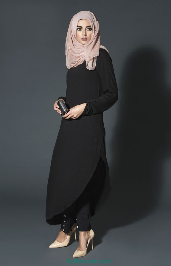 مدل مانتو بلند عربی (10)