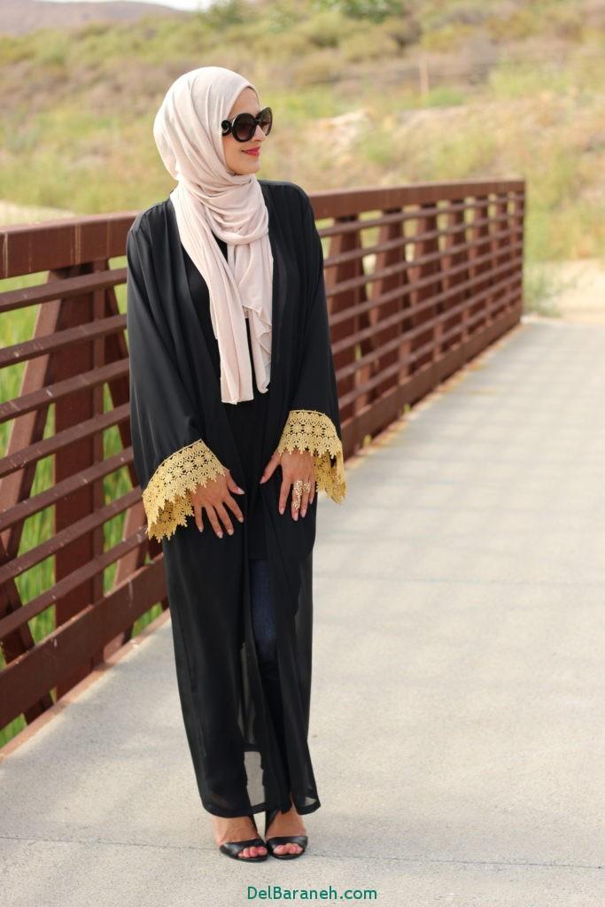 مدل مانتو بلند عربی (13)