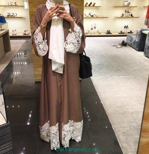 مدل مانتو بلند عربی (17)