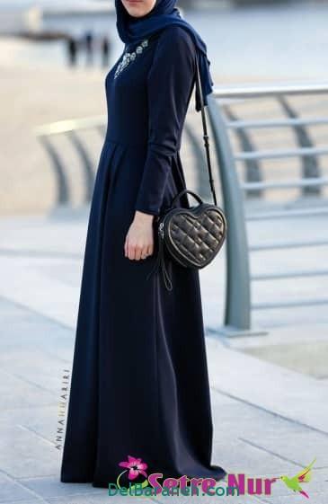 مدل مانتو زنانه بلند عربی (10)