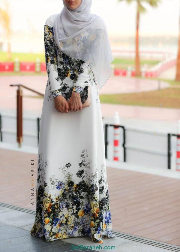 مدل مانتو زنانه بلند عربی (13)