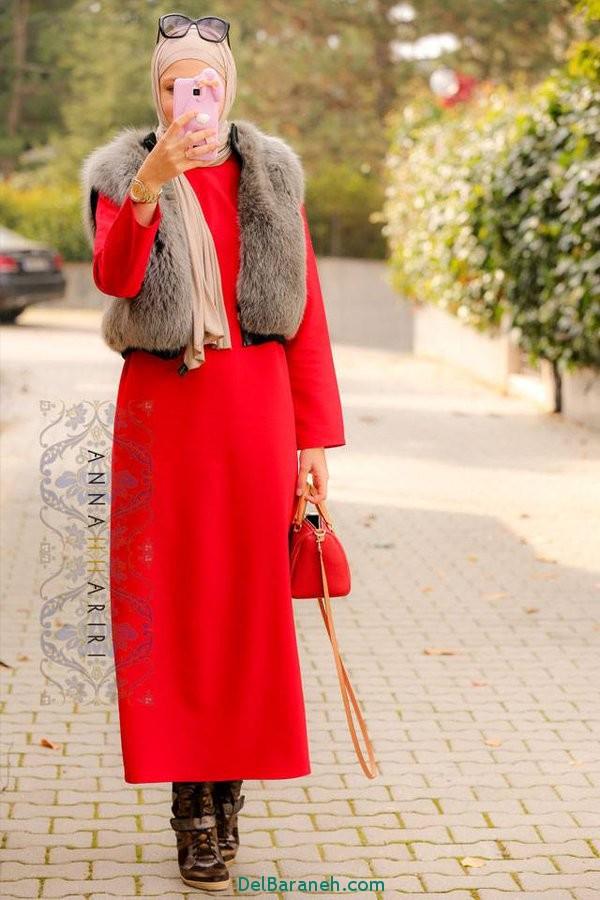 مدل مانتو زنانه بلند عربی (18)