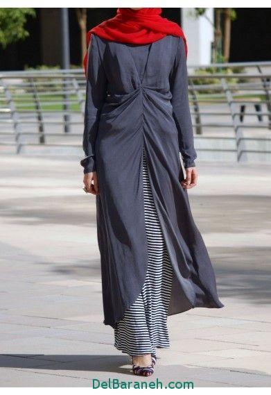 مدل مانتو زنانه بلند عربی (19)