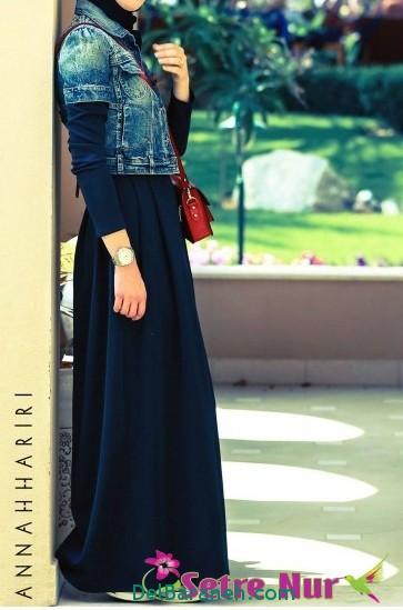 مدل مانتو زنانه بلند عربی (2)
