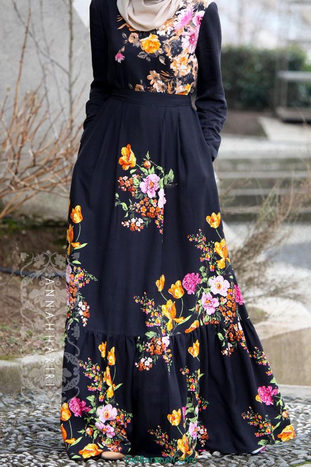 مدل مانتو زنانه بلند عربی (21)